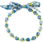Chlidren necklace blue forest - PPMC