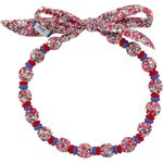 Chlidren necklace paprika mini flower - PPMC