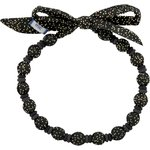 Chlidren necklace noir pailleté - PPMC