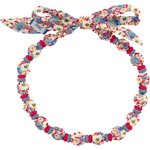 Chlidren necklace carnations jeans - PPMC