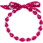 Chlidren necklace fuschia spots - PPMC