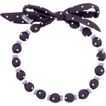 Chlidren necklace plum spots - PPMC