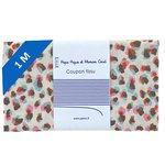 1 m fabric coupon confetti aqua - PPMC