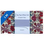 1 m fabric coupon poppy - PPMC