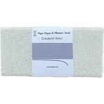 Coupon tissu 50 cm white sequined - PPMC