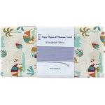 Coupon tissu 50 cm carnaval d'eléphants - PPMC