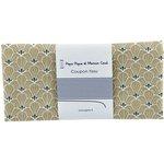 Coupon tissu 50 cm graphique beige ex1080 - PPMC
