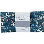 Coupon tissu 50 cm herbier marine ex1085 - PPMC