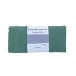 Coupon tissu 50 cm gaze vert sauge - PPMC