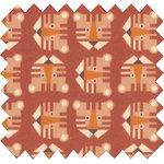 Coupon tissu 50 cm geotigre - PPMC