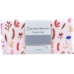 Coupon tissu 50 cm herbier rose - PPMC