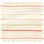 Coupon tissu 50 cm rayé rose argent - PPMC