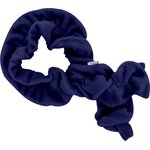 Twisted fleece scarf blue navy - PPMC
