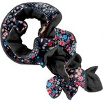 Twisted fleece scarf silvery rose - PPMC