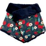 Adult Fur scarf snood mandarina - PPMC
