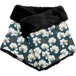 Adult Fur scarf snood paradis bleu - PPMC