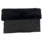 Children fur scarf snood golden straw - PPMC
