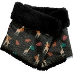 Children fur scarf snood palma girafe - PPMC
