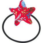 Pony-tail elastic hair star cherry cornflower - PPMC