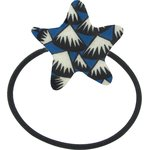 Pony-tail elastic hair star parts blue night - PPMC