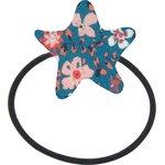 Elastique cheveux étoile fleuri nude ardoise - PPMC