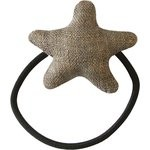 Pony-tail elastic hair star copper linen - PPMC