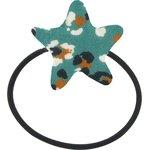 Elastique cheveux étoile panthère jade - PPMC