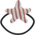 Elastique cheveux étoile rayures cuivrées - PPMC