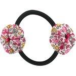 Goma de pelo con flores jazmín rosa - PPMC