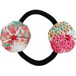 Elastique fleur du japon dahlia poudré - PPMC