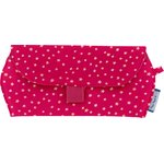 Glasses case fuchsia gold star - PPMC