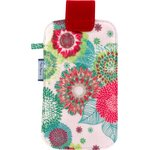 Phone case powdered  dahlia - PPMC