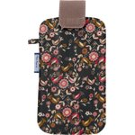 Big phone case ochre bird - PPMC