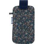 Etui téléphone portable paquerette marine - PPMC