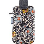 Big phone case ochre flower - PPMC