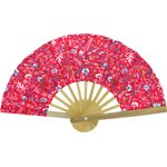 Hand-held fan cherry cornflower - PPMC