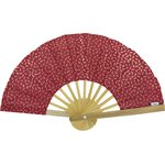 Hand-held fan ruby dragonfly - PPMC