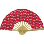 Hand-held fan paprika petal - PPMC