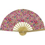 Hand-held fan purple meadow - PPMC