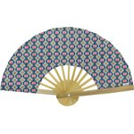 Hand-held fan ethnic sun - PPMC