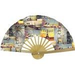 Hand-held fan  vintage - PPMC