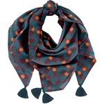 Foulard pompon  ananas party - PPMC