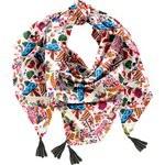 Pom pom scarf barcelona - PPMC