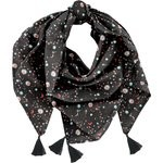 Foulard pompon constellations - PPMC
