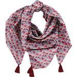 Pom pom scarf poppy - PPMC