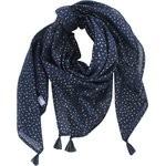 Pom pom scarf etoile or marine  - PPMC