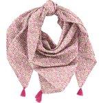 Pom pom scarf pink jasmine - PPMC