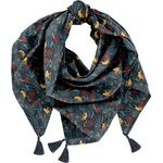 Foulard pompon jungle party - PPMC