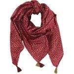 Pom pom scarf ruby dragonfly - PPMC