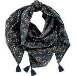Pom pom scarf fireflies - PPMC